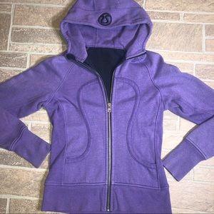 Lululemon Sparkle Purple 6 Hoodie *Flaw Read*